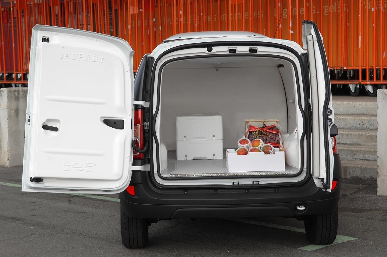 небольшой каблук рефрижератор для перевозки продуктов питания по городу