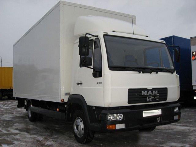 грузовик МАН 5 тонник