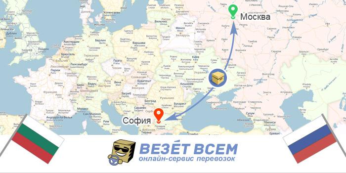 Грузоперевозки Россия-Болгария