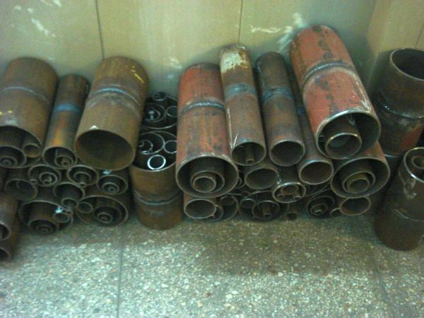 транспортировка металлических трубных заготовок догрузом из Симферополя в Краснодар