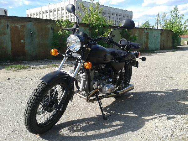 Урал соло ст 2014 из Москвы в Бурачки
