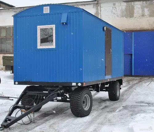 Доставка автотранспортом полуприцепа тракторного вагона Дома попутно из Самарской области в Нефтеюганск