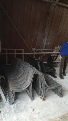 Заказать газель для перевозки чугунных Ног для лавок В скверах из Исилькуля в Санкт-Петербург