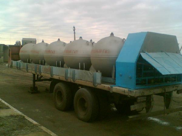Перевозка полуприцепа с оборудованием (пагз) из Украина, Днепропетровск в Россия, Краснодар