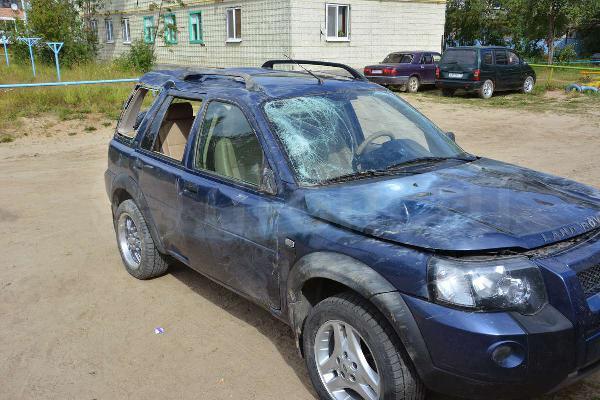 Перевозка автомобиля Land Rover fr / 2005 г / 1 шт