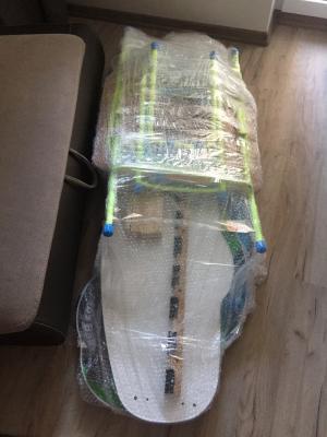 Заказать авто для отправки вещей : Детская кроватка и столик, 6 сумок (габариты одинаковые) из Светлогорска в Королев