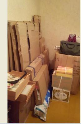 Стоимость отвезти коробки, мебель из Калуги в Москву