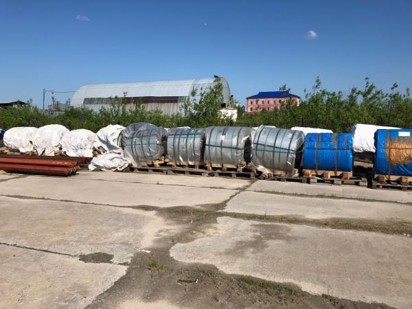 Отвезти автотранспортом металла В рулонах из Ноябрьска в Омск
