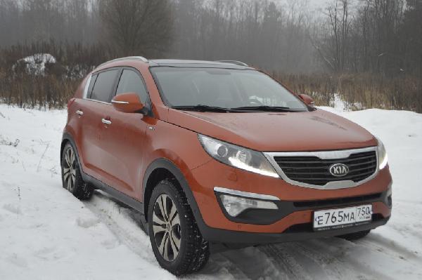 Перевозка автомобиляKIA Sportage, 2.0 АТ 2014года