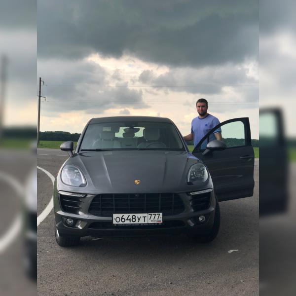 Стоимость перевозки Porsche Macan