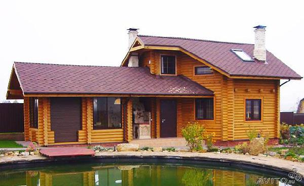 Транспортировать Гостевой деревянный дом 73 м из Краснодара в Деметру