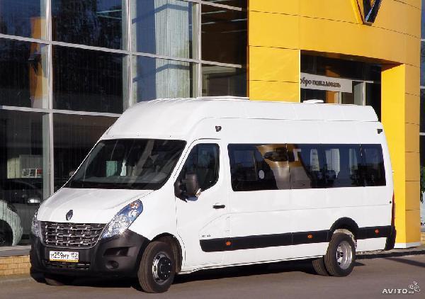 Перевозка автомобиля Renault Mas / 2015 г / 1 шт