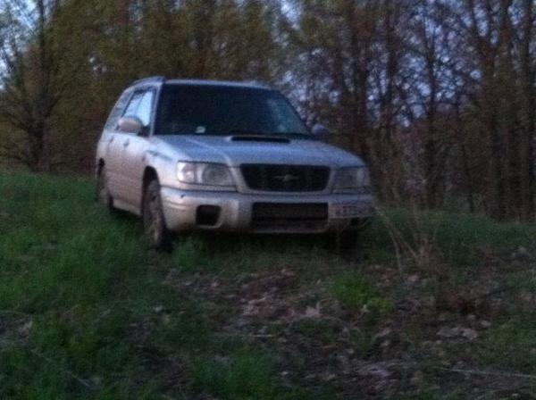 Перевозка автомобиля subaru forester 2000год выпус из Тамбов в Новосибирск