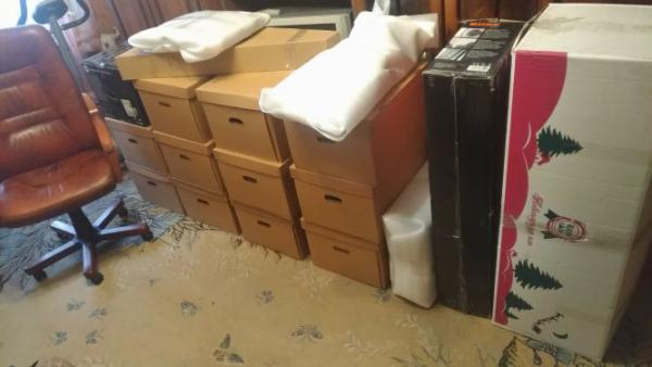 Отправить Вещи в коробках, Вещи в коробках, Компьютерное кресло, Гитара, Вещи в коробках вентилятор, Монитор, Системный блок из ул. Владимирской в Москву