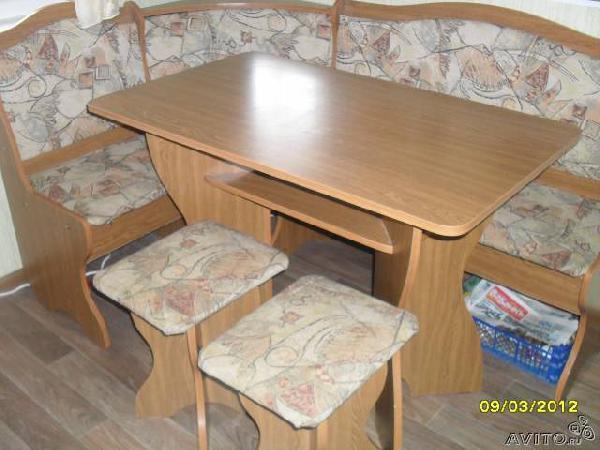 Недорогая перевозка кухонный уголок+стол+2 табурета из Нижний Новгород в Пентюхов