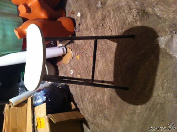 Доставка стула барного, белого, серебристого стула барного, белы из Ростов-на-Дону в Санкт-Петербург