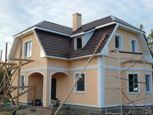 Отправить Строительство домов, коттеджей из Омска в Евбуляка