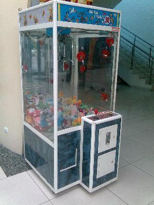доставка автомата кран-машины игрушек дешево догрузом из Ярославля в Вязьму