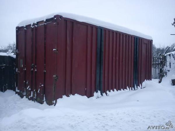 Заказ газели для отправки личныx вещей : Контейнер 20т из Нижнего Новгорода в Елховку