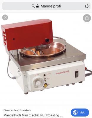 Доставка mandelprofi mini electric nut roasting machine из Германия, Гархинга в Россия, Мамырь