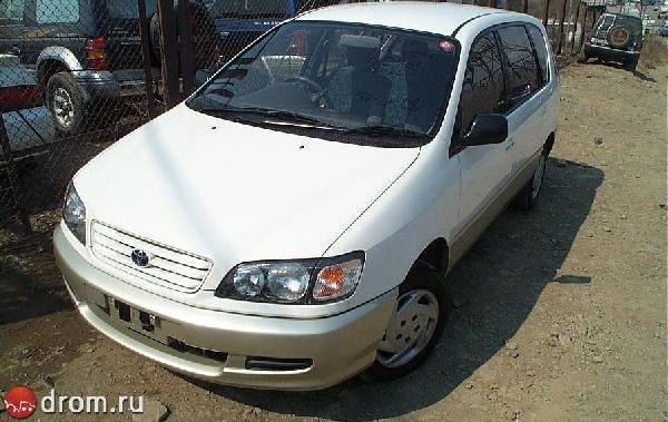 Отправка автомобиля toyota ipsum 1996 год из Хабаровск в Краснодар