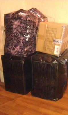 Перевезти личные вещи. 3 сумки, 1 коробка (хрупкое) из Балашихи в Евпаторию