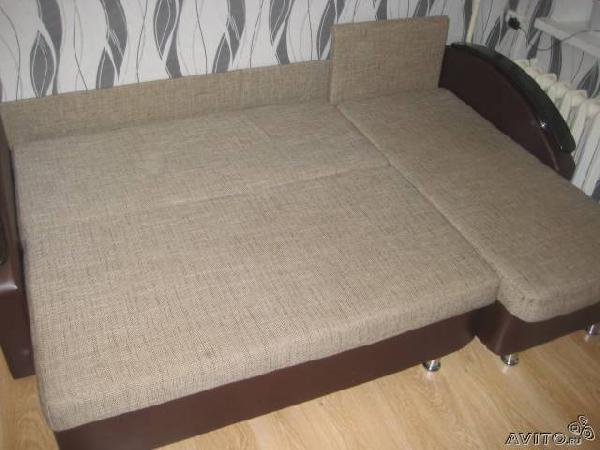 Заказ отдельной машины для перевозки мебели : Угловой диван из Самары в Новокуйбышевск