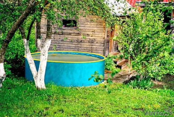 Доставка личныx вещей : Бассейн на дачу разборный из Санкт-Петербурга в Снт Ягоду