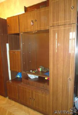 Заказ отдельной машины для транспортировки вещей : Мебельная стенка в дар по Санкт-Петербургу