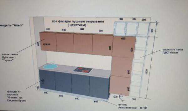 Перевозка вещей : Кухонный гарнитур из Москвы в Брянск