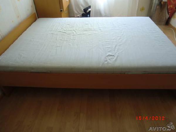 Заказать грузовой автомобиль для перевозки мебели : 2-х-спальная кровать по Санкт-Петербургу