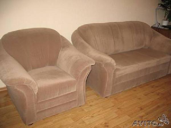 Перевозка вещей : Комплект мягкой мебели Диван + из Садоводческого товарищества N48 в Гусева