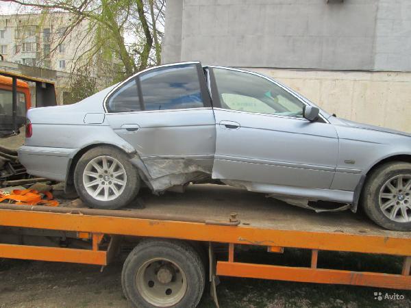 Перевозка автомобиля BMW 5 e39 седан 2002г.