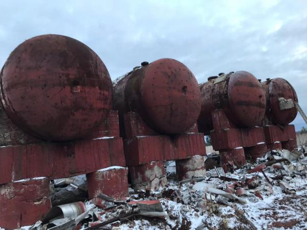 Грузоперевозки металлической емкости из Россия, Альметьевска в Узбекистан, Термез