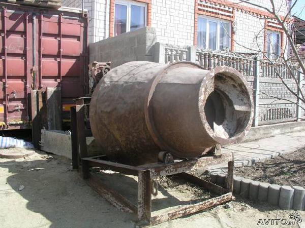 Доставка бетономешалки из Анапы в Н новгород