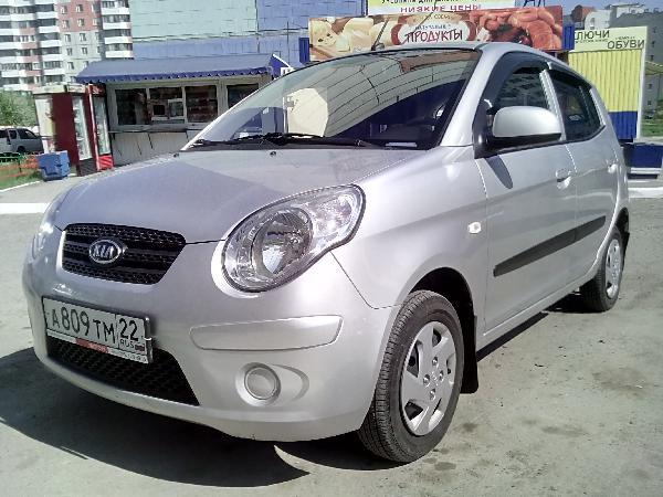 Перевозка авто сеткой kia picanto / 2011 г / 1 шт из Барнаула в Краснодар