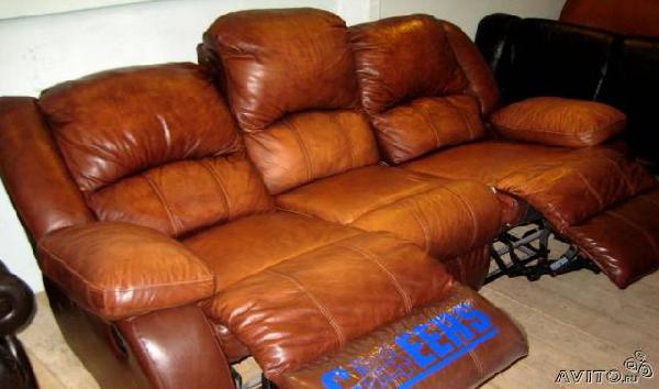 Транспортировать Кожаный диван-реклайнер, из Фи из Санкт-Петербурга в Пензу