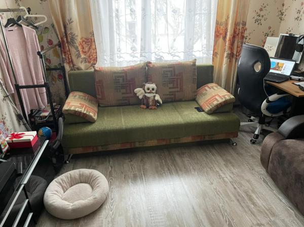 Заказать автомобиль для перевозки вещей : Диван-кровать из Москвы в Сафоново