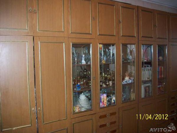 Отправка мебели : Стенка 4 секции , в хорошем со из Жуковки в Приозерное