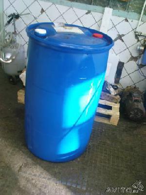 Перевозка пластмассовых бочки 210 литров из Санкт-Петербурга в Самара красная глинка