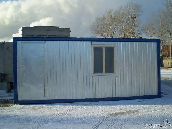 Заказать газель для перевозки бытовки/дома/бани/блокконтейне из Москвы в Первомайца