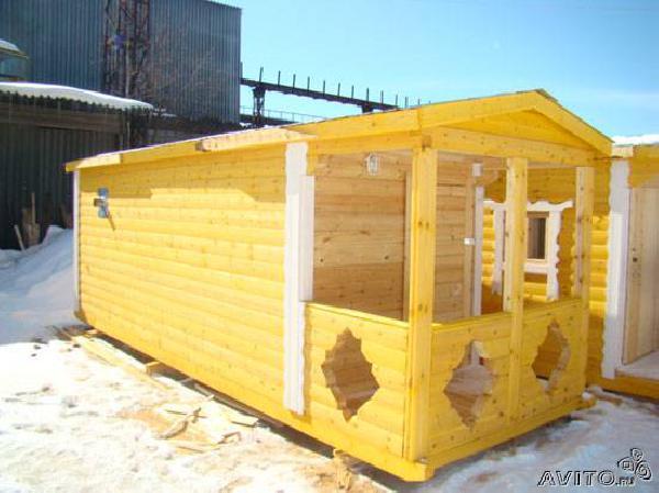 Заказ авто для транспортировки вещей : Баня 7х2,3м из Санкт-Петербурга в гдовского р-нашего ремда