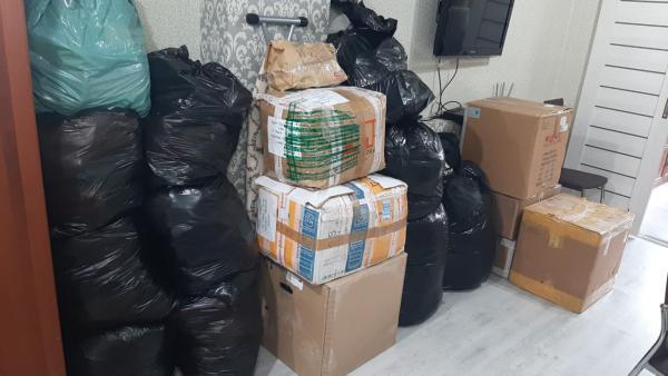 Перевезти Личные вещи в мешках и коробках из Сочи в Москву