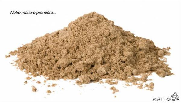 Доставка песок