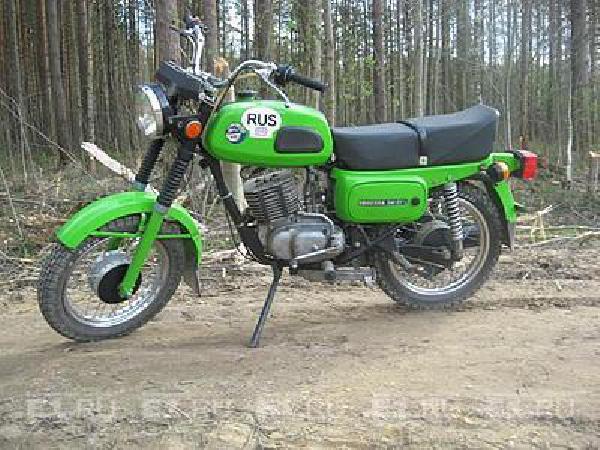 Доставка личныx вещей : мотоцикл из Мустафина в Екатеринбург