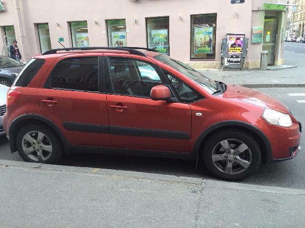 Перевозка авто сеткой сузуки sx4 / 2010 г / 1 шт из Санкт-Петербурга в Сургут