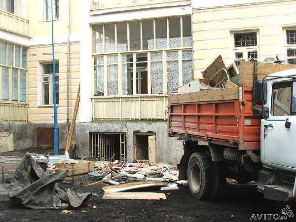 Газель перевезти вывоз строительного мусора по Нижнему Новгороду