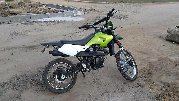 Мотоцикл racer enduro 150-gy из Барнаула в Белокуриху
