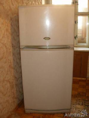Заказ автомобиля для отправки вещей : Холодильник двухкамерный Sharp из Октября в Новосибирск