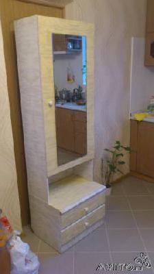Доставка вещей : Шкаф светлый с зеркалом из Геленджика в Кабардинку